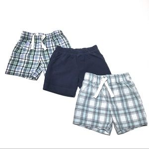 Carter's 12M Shorts - 3 Pairs